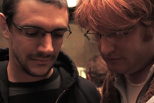 a tender bromance moment
