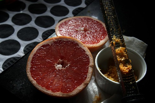 grapefruit zest