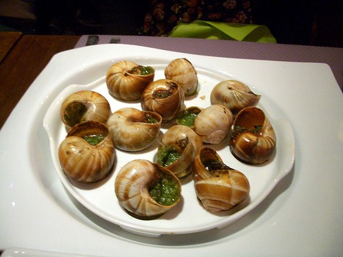 paris escargot