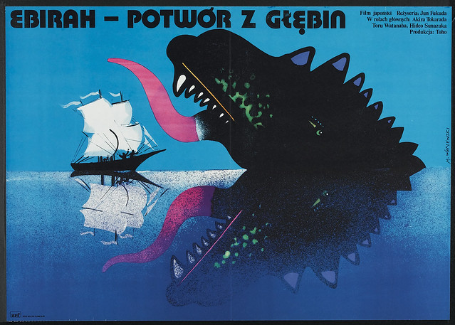 Godzilla vs. the Sea Monster (Toho, 1978) Polish