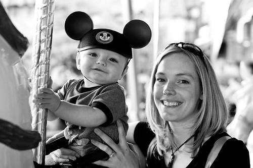 Noah's First Disneyland Trip 1