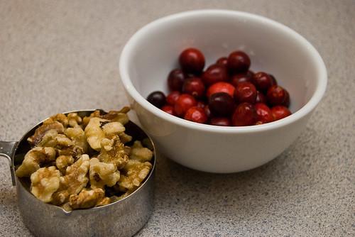 Walnuts and Cranberries