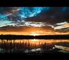 When My Dream Comes True (Marc Benslahdine) Tags: blue light sunset sky orange lake reflection clouds jaune landscape rouge soleil lumière lac bleu ciel silence contraste nuage paysage reflexion reflets roseaux contrejour calme coucherdesoleil reflects etang douceur tamronspaf1750mmf28xrdiii vairessurmarne canoneos50d marcopix lightroom3 tripax ©marcbenslahdine wwwmarcopixcom wwwfacebookcommarcopix bestofjanuary2011 marcopixcom