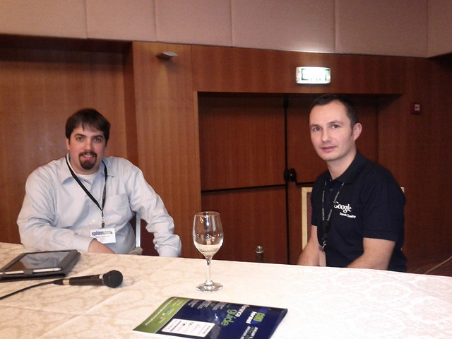 Barry Schwartz & Kaspar Szymanski of Google at SphinnCon