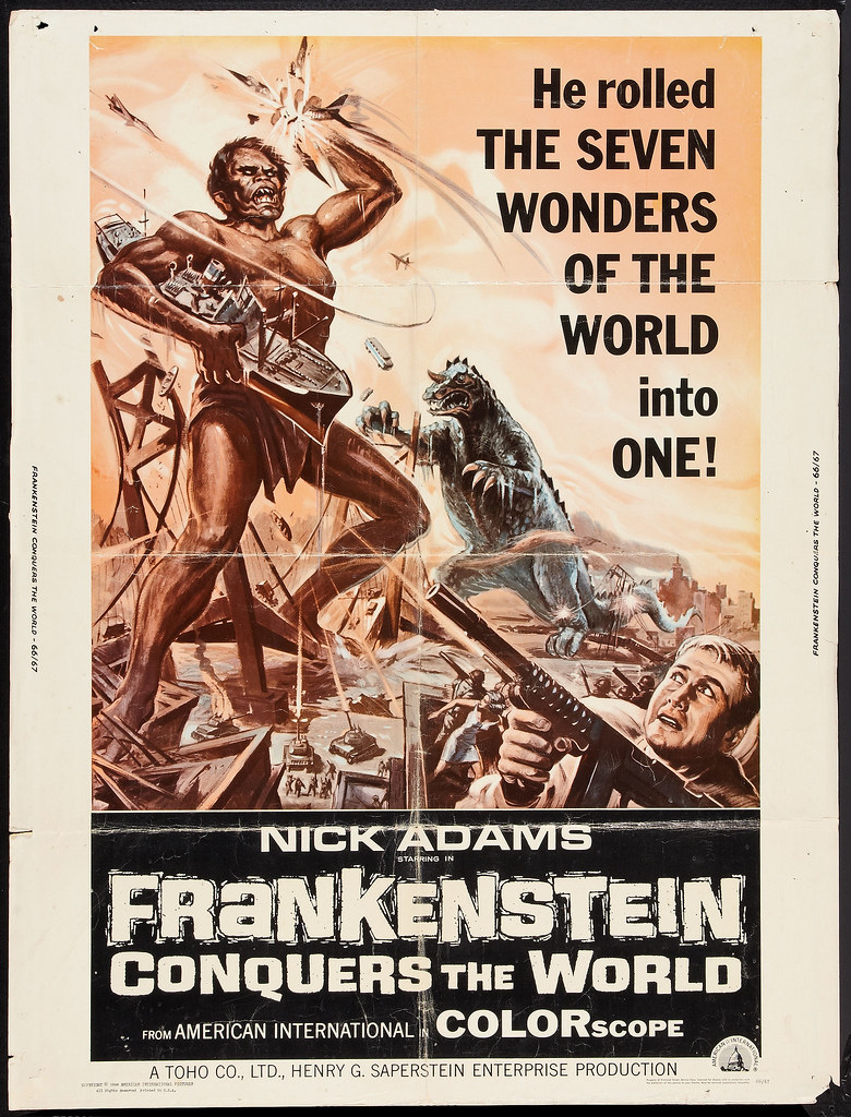 Frankenstein Conquers the World (American International, 1966)