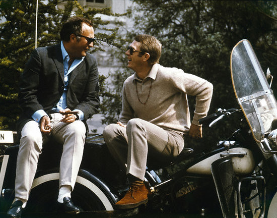 Peter Yates and Steve McQueen
