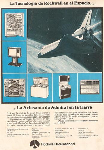 Publicidad Rockwell International (circa 1975)