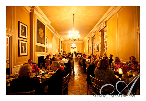 crane-estate-castle-hill-wedding-real-inspiration-mm- dinner in the great house main hall- ipswich mass