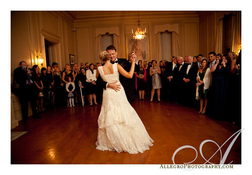 crane-estate-castle-hill-wedding-real-mm- new england bride and her father dance in the ballroom of the great house- northshore wedding