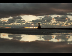 Fat lips. Crosby Beach. Explored Frontpage (Ianmoran1970) Tags: sunset beach explore frontpage crosby muddyboots explored ianmoran ianmoran1970