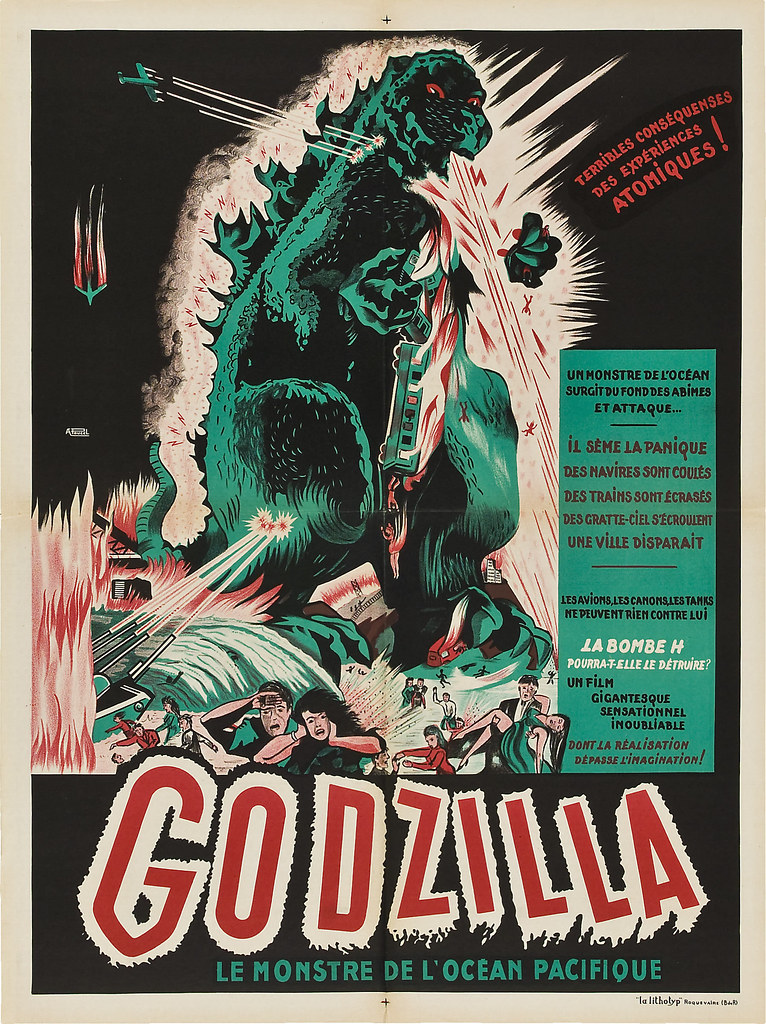 Godzilla (Trans World, 1956). French