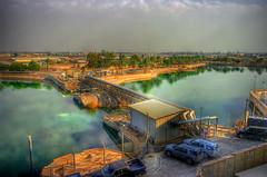 Direct Hit (SounDan) Tags: bridge army destruction military iraq palace baghdad airforce bomb saddam usaf deploy hussein deployment destroy alfaw operationnewdawn combad