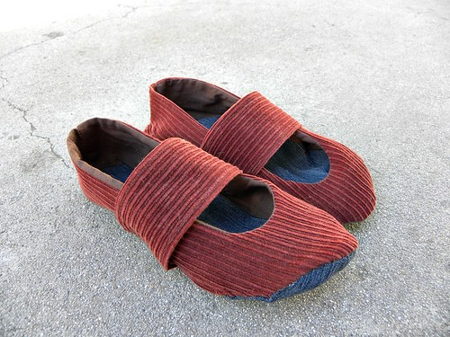 Corduroy Shoes 005