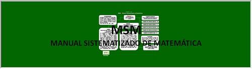 MSM - Manual Sistematizado de Matemática