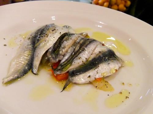 Sardines, La Piazza, Eataly
