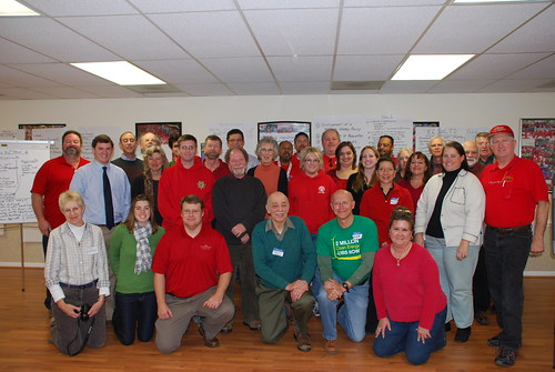 CWA and Sierra Club members in Virginia