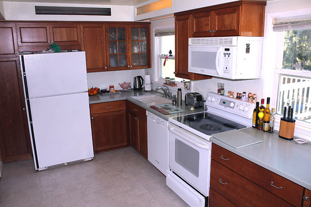 Mid Century Remodeled Kitchen