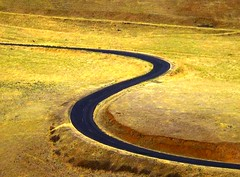 Curvy Road (moonjazz) Tags: auto travel rural speed turn drive highway bend s sharp lovely curve washingtonstate embankment hairpin blacktop paved meader allxpressus