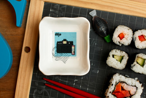 Stamps Dipping Bowl - Film Camera