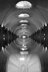Portal Paveletskaya (big_fellow) Tags: cokin219 architecture moscow nikon f80 nikkor blackandwhite ilford 135 xp2s film 3520