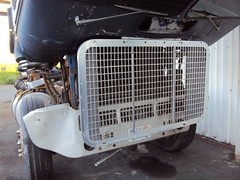 project powerliner grille (hanks1961kw) Tags: big diesel detroit rig v8 coe kenworth freightliner cabover largecar 8v92