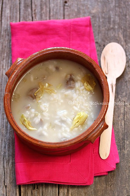 minestra sedano-magoncini