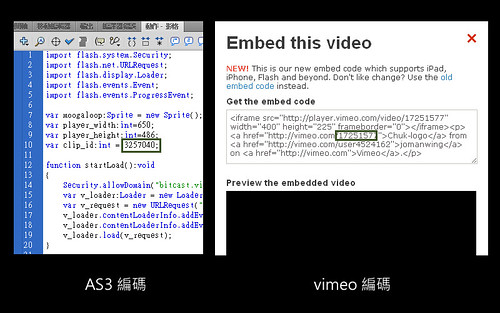 vimeo程式