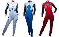 110118 - 有著《福音戰士新劇場版:破》劇中男女主角Plug-suit設計的「潛水服」在日本正式開賣!