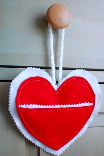 heart mailbox
