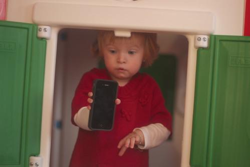 Ooh! An iPhone 4!