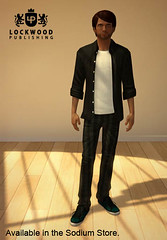 PlayStation Home: Lockwood Small Shirt Jeans Sneakers