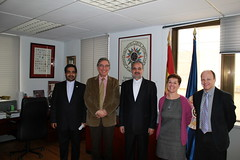 Visita Embajador Irán