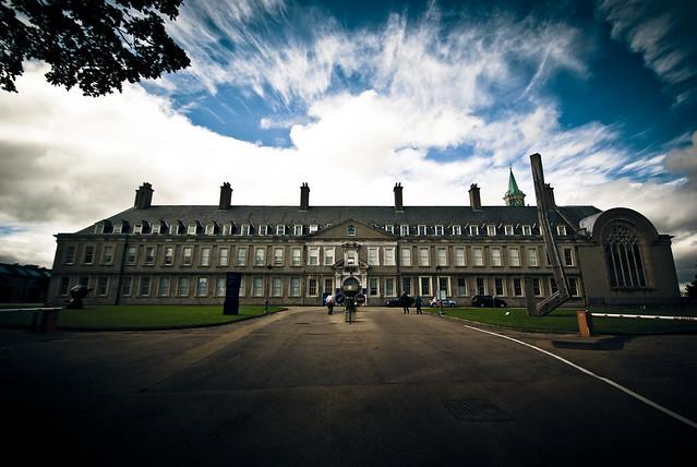 IMMA Courtyard - Dublin