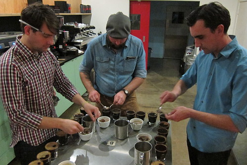Intelligentsia: The Cupping Begins!