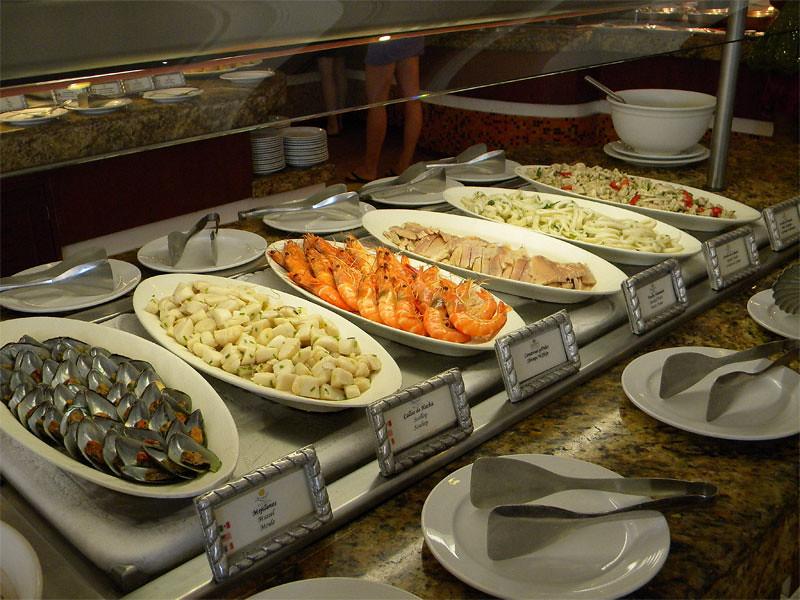 Buffet de mariscos
