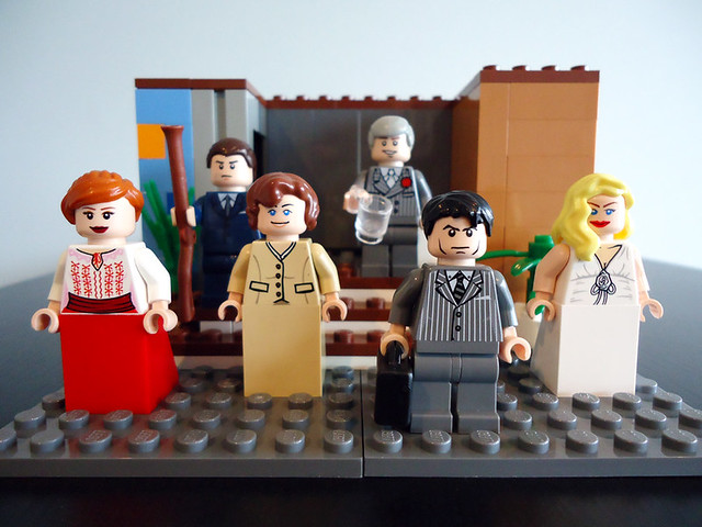 Lego Mad Men