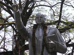 Pondicherry (Kent MacElwee) Tags: india statue pondicherry southindia southasia puducherry