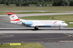 OE-LFL Dusseldorf 15/06/10 (Andy Vass Aviation) Tags: dusseldorf austrianarrows oelfl fokker70