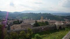 Landscape - Spoleto (PG) Italy (luca_margarone) Tags: europa europe italy italia umbria region regione spoleto city citt panorama landscape vista colline sole tramonto sunset view paesaggio campo collina