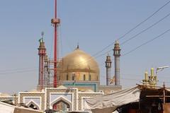 outside view of Lal Shahbaz Qaandar Mazar (Omair Anwer) Tags: lal shahbaz qalander mazar tomb sehwan sharif sufi sufism