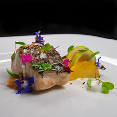 Fish (ImaginemProductions) Tags: food culinary photography photographer egg salad lobster seafood carrot beautiful colorful fish potato greens fresh forage
