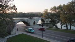 PA224225 (餅乾盒子) Tags: 法國 亞維儂 france avignon 夕陽 pont davignon saintbénezet 亞維儂斷橋 聖貝內澤橋 阿維尼翁橋