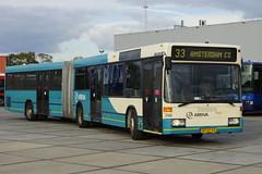Arriva 399 Mercedes-Benz O 405 GN als lijn 33 Ansterdam in de TCR stalling van Breda 08-10-2016 (marcelwijers) Tags: arriva 399 mercedesbenz o 405 gn als lijn 33 ansterdam de tcr stalling van breda 08102016 bus gelenktriebwagen niederflur mercedes benz coach linienbus lijnbus geledebus excursie met stichting museumbus 1698 door noord brabant