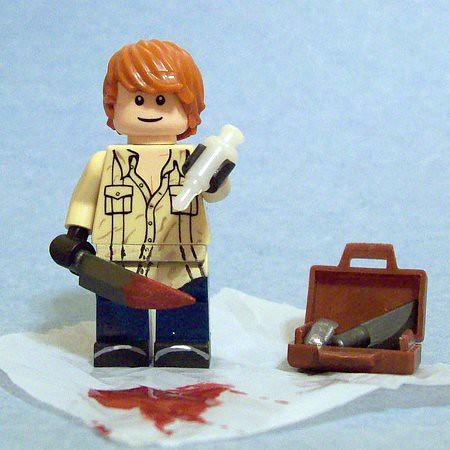 Custom minifig Dexter custom lego minifigure