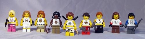 Custom minifig The S.E.A.L. Team