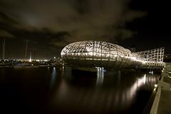 Webb Bridge (KyLoRi) Tags: bridge light artistic scenic australia melbourne docklands vic 1022mm webbbridge canoneos7d