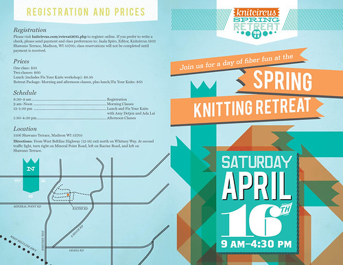 Knitcircus Spring Retreat Brochure - Outside