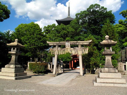 Temple in Kyoto, Japan
