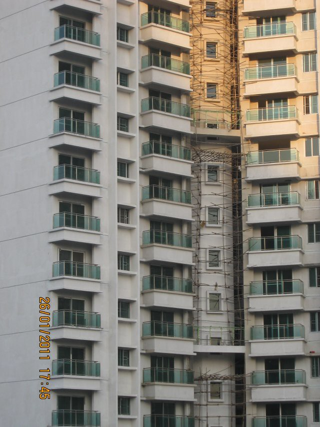 Balconies of Sangria Megapolis - Megapolis on 26th January 2011