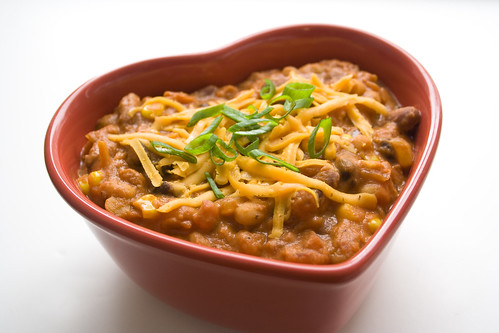 Vegetarian Chili with Peanut Butter